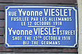 Yvonne Vieslet - plaque de rue à Marchienne-au-Pont.jpg