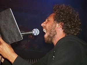 Zack de la Rocha - De la Rocha performing live