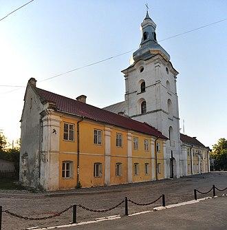 Zalishchyky - Image: Zalishchyky St Stanislas 2