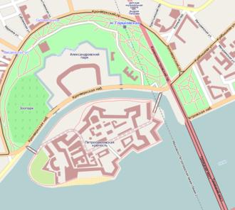 Hare Island (Saint Petersburg) - Zayachy Island