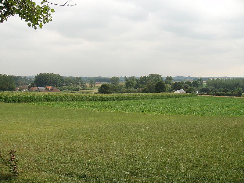 Zicht van op de Heerbaan, Attenrode-Wever