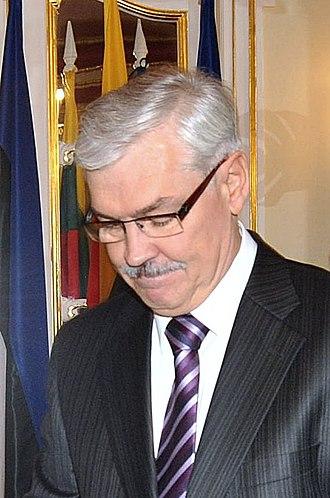 2014 Lithuanian presidential election - Image: Zigmantas Balčytis