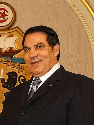 History of modern Tunisia - Ben Ali, former President of Tunisia