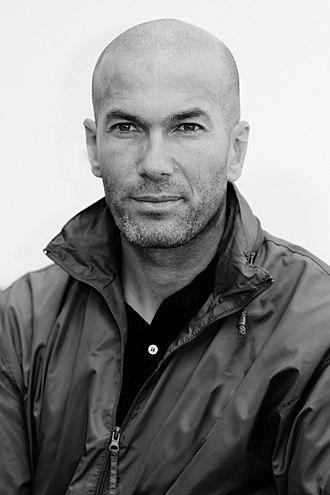 Algerians in France - Image: Zinedine Zidane