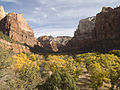 Zion Canyon in Autumn (5015257435).jpg
