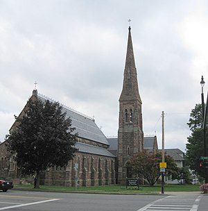 Palmyra (village), New York - The Zion Episcopal Church in downtown Palmyra