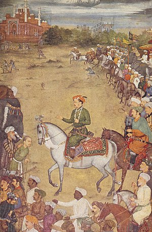 Khusrau Mirza - Khusrau is captured and presented to Jahangir.