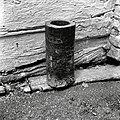 """""""Možnar"""" iz črešnjevega lesa, višina 40cm, premer odprtine 13cm, Kočarija 1956.jpg"""