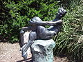 """Satyr"" A Statue By Frank 'Guy' Lynch, Royal Botanical Gardens, Sydney.jpg"