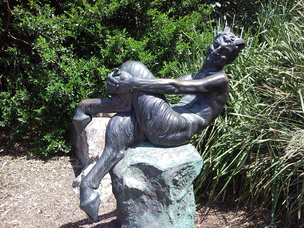 File Quot Satyr Quot A Statue By Frank Guy Lynch Royal
