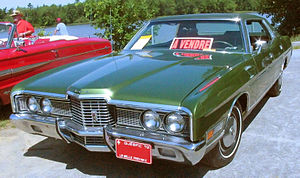 Ford LTD (Americas) - 1972 Ford LTD 4-Door Hardtop