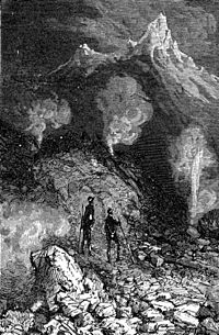 'Journey to the Center of the Earth' by Édouard Riou 21.jpg