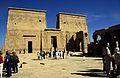 Ägypten 1999 (025) Assuan- Pylon der Isistempel, Philae (27046155975).jpg