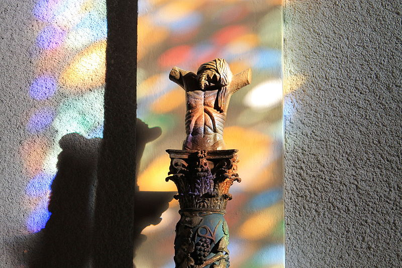 File:Église Saint-Maurice de Talloires-Détails sculpture en bois.JPG