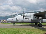 Österreich, Zeltweg (Flughafen Hinterstoisser-2013), Antonov AN-26, 0144.JPG