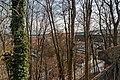 Český Krumlov - Zámecká zahrada - View East on the huge Castle Complex.jpg