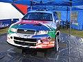 Škoda Fabia WRC (F. Duval & P. Pivato) Goodrich Festival Speed 2006 2.jpg