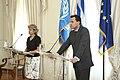 Συνάντηση ΥΠΕΞ, κ. Δ. Δρούτσα, με Γενική Διευθύντρια UNESCO, κα I. Bokova (4973261059).jpg