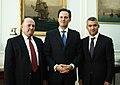 Συνάντηση ΥΠΕΞ, κ. Δ. Δρούτσα, με Πρ. Ομόνοιας και Δήμ. Χειμάρρας, κ. Β. Μπολάνο, και Πρ. ΚΕΑΔ, κ. Ε. Ντούλε (14.09.10) (4990023562).jpg