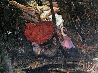 Folklore of Russia - Baba Yaga.