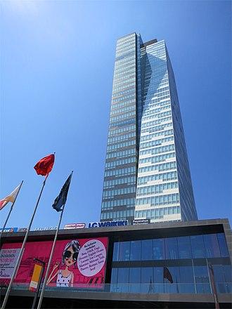 Şişli - Trump Towers Istanbul (2010) in Mecidiyeköy, Şişli, is the first Trump building in Europe.
