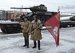 В Новосибирске эшелон с легендарными танками Т-34 6.jpg