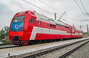 Gas turbine-electric locomotive - GT1-001