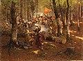 Даргинский поход. Подвиг 3-го бат.Апшеронского полка. рис.Рубо Ф.А. 1895г ГИМ e1.jpg
