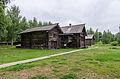 Дом крестьянина Скобелкина (XVIII век) из деревни Стрельниково Костромского района Костромской области.jpg