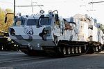 ЗРК 9К331МДТ Тор-М2ДТ на базе двухзвенного гусеничного транспортера ДТ-30ПМ - Тренировка к Параде Победы 2017 04.jpg