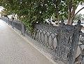 Каменный мост через реку Исеть - ограда моста (ул. Малышева).JPG