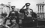 Маршал Советского Союза Ф.И. Толбухин принимает военный парад.jpg