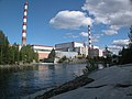 Мурманская обл. Кольская АЭС Сбросной кананал.2008-22.jpg
