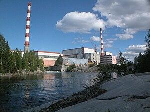 Kola Nuclear Power Plant - Image: Мурманская обл. Кольская АЭС Сбросной кананал.2008 22