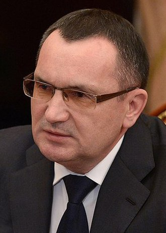 Nikolay Fyodorov (politician) - Image: Николай Фёдоров, 30 марта 2015 года