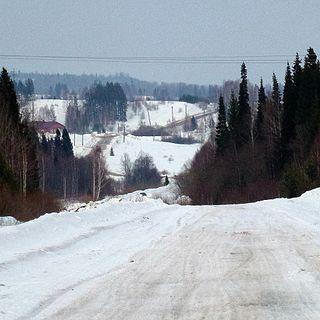 District in Perm Krai, Russia