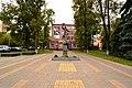 Памятник Ю.А. Гагарину на проспекте Октябрьский 2.jpg