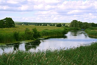 Psel River - The Psyol near Ivnya