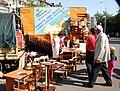 Торгова ярмарка біля Дніпровської РДА. Продукція підприємств району.jpg