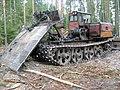 Трелевочный трактор для вывоза хлыстов - panoramio.jpg