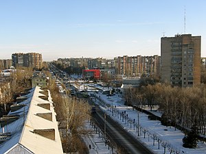 Kramatorsk - Apartment blocks in Kramatorsk