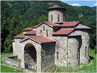 Alania - Surviving architectural monuments of the Alanian kingdom include three churches in Arkhyz, the Shoana Church, and the Senty Church.