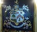 דגל משפחת מונטיפיורי באולם על שם השגריר שלמה ארגוב, שגרירות ישראל בלונדון.jpg
