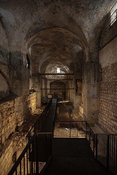 File:חפירה ארכאולוגית במבנה הקישלה.jpg