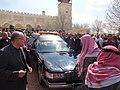 صلاة الجنازة على الشيخ حارث الضاري في مسجد الحسين بن طلال في حدائق الحسين بعمان 11.JPG