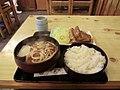そば処 うち田 和風焼肉 みそ味パイン添え 900円 - panoramio.jpg