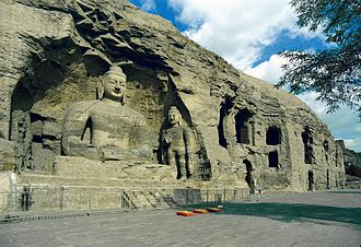 Datong - The Yungang Grottoes.