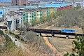 巡道工出品 photo by Xundaogong——图们市图们江铁路大桥 出境的朝鲜列车 - panoramio.jpg