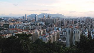 Pengjiang District District in Guangdong, Peoples Republic of China