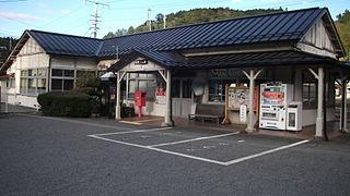Hida-Ichinomiya Station Railway station in Takayama, Gifu Prefecture, Japan